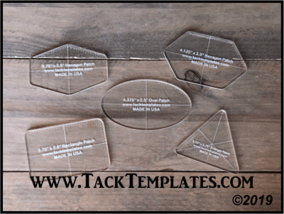 Jumbo Patch Templates - Pack 1