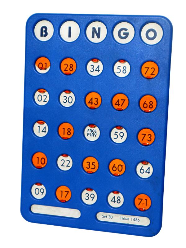 Reusable Bingo Shutterboards (Qty: 5 per Box)