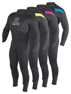 Scuba Legendz High Stretch Wetsuit