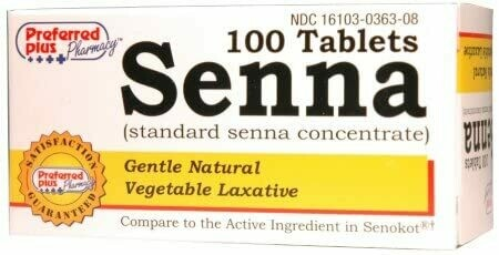 Senna Tabs-100 ct