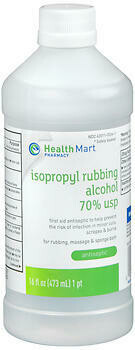 Isopropyl Rubbing Alcohol 70%- 16 OZ