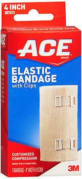 Ace Elastic Bandage With Clips-175-2229