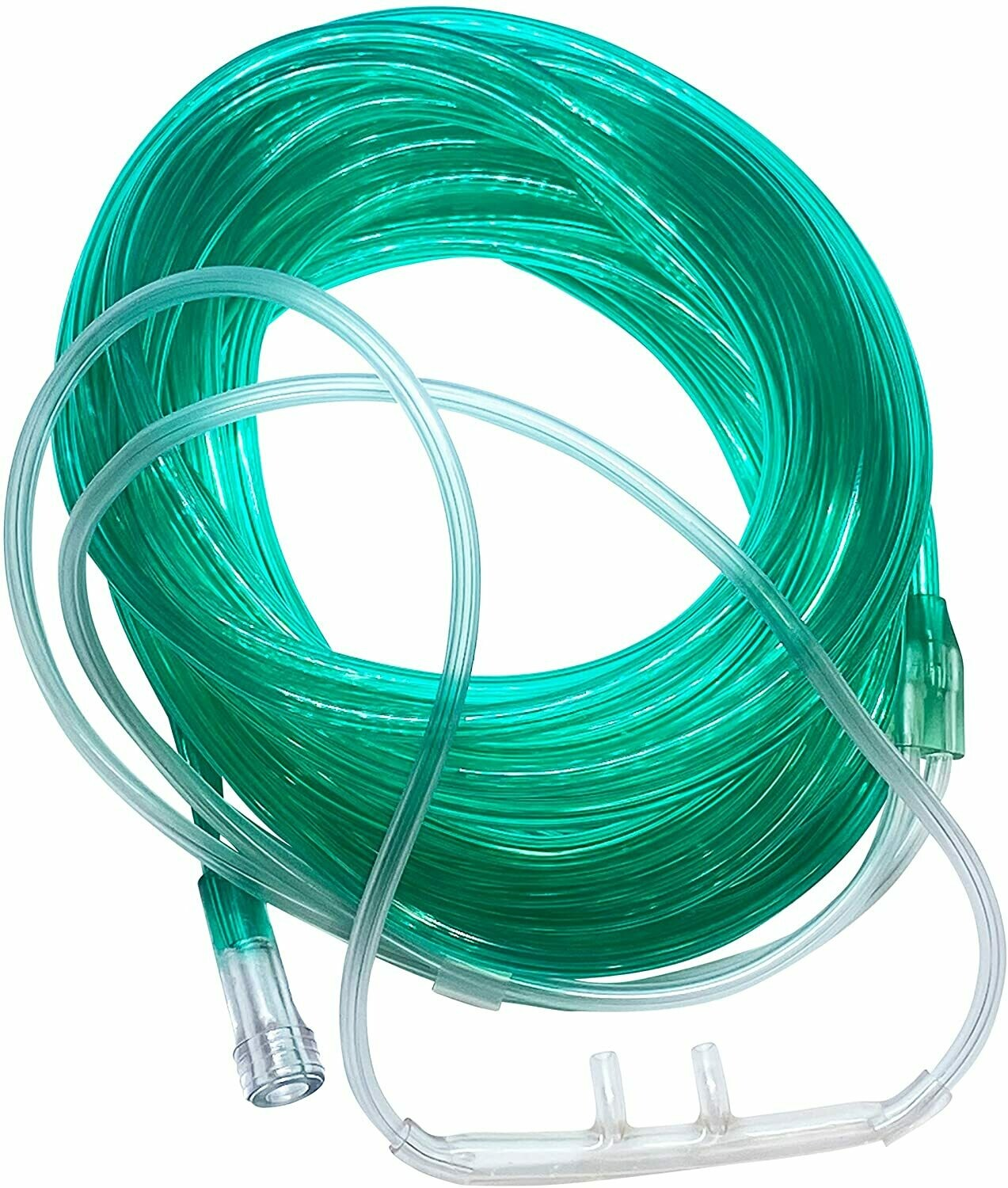 GREEN Crush Resistant 3-Channel Oxygen Supply Tubing