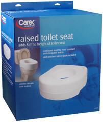 Carex Raised Toilet Seat B310-00
