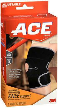 ACE Adjustable Compression Knee Support
