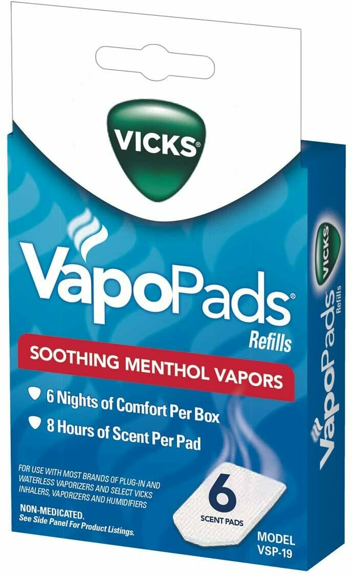 Vicks Vapopads Refills - 6 count