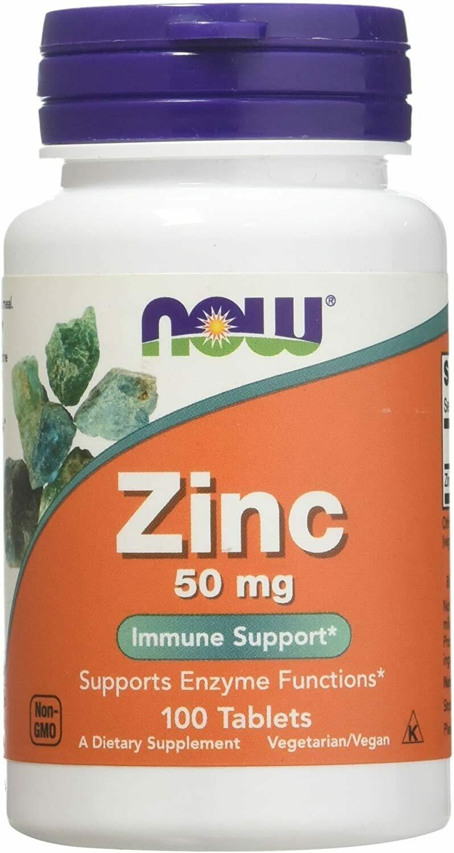 Zinc 50mg- 100 Tablets