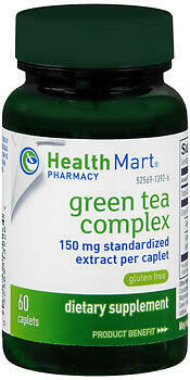 Green Tea Extract 60 Count-Health Mart