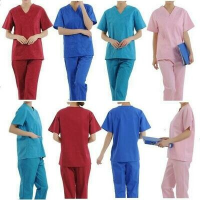 Unisex 2 Pocket Scrub Sets