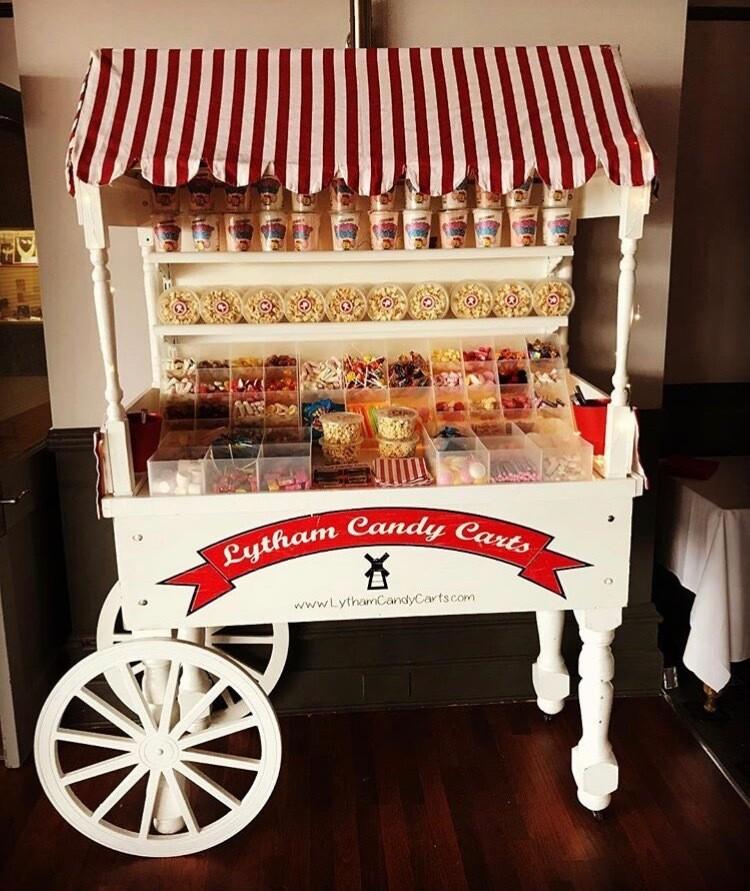 Premium Candy sweet cart