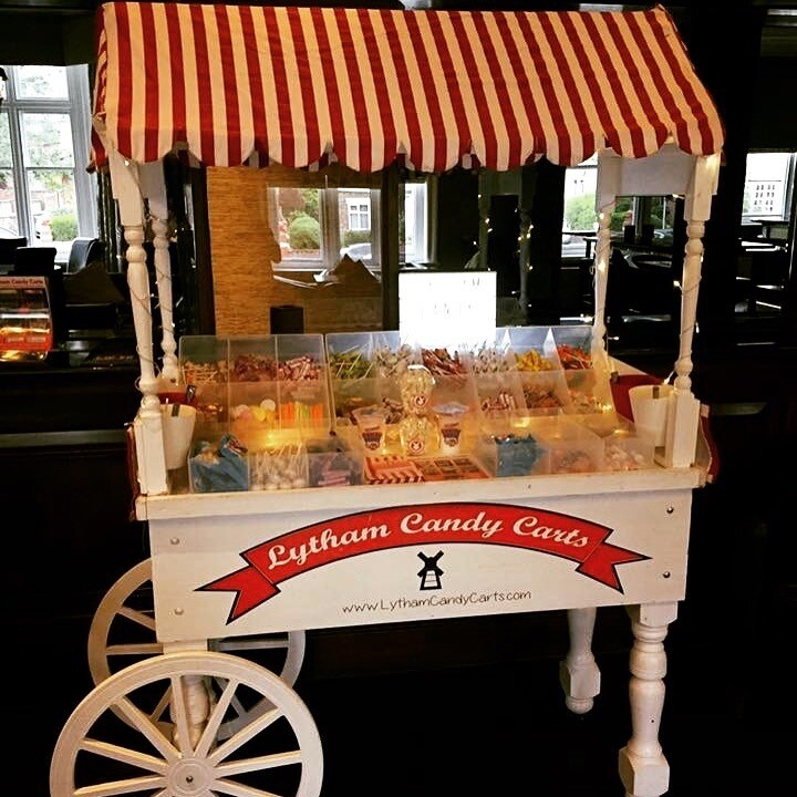 Candy sweet cart