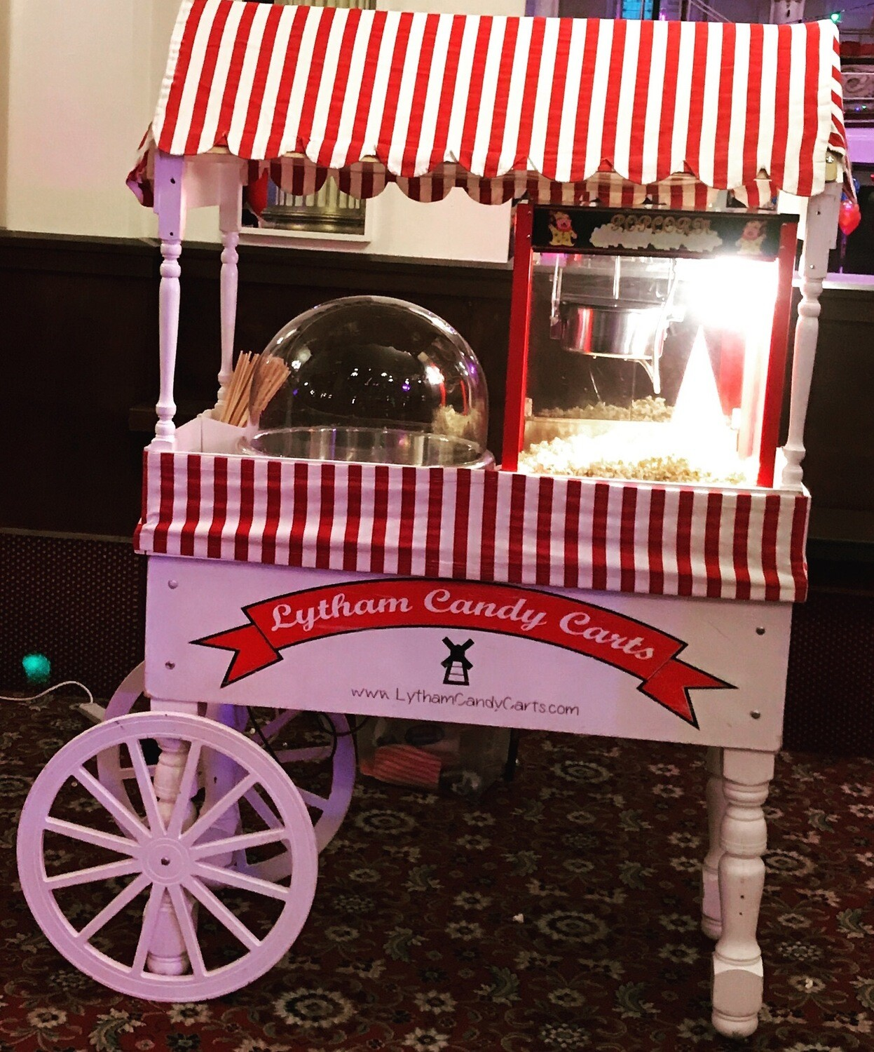 Popcorn & Candy Floss cart