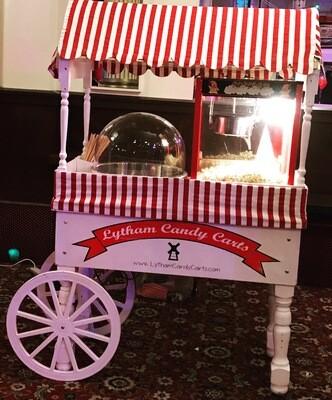 Popcorn & Candy Floss cart