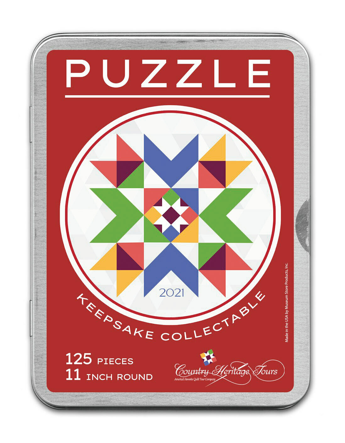 Crystal Star Round Travel Puzzle