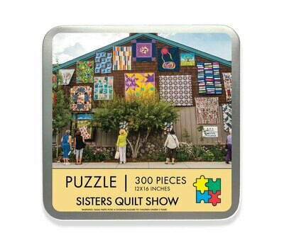 Sisters Outdoor Quilt Show Travel Puzzle