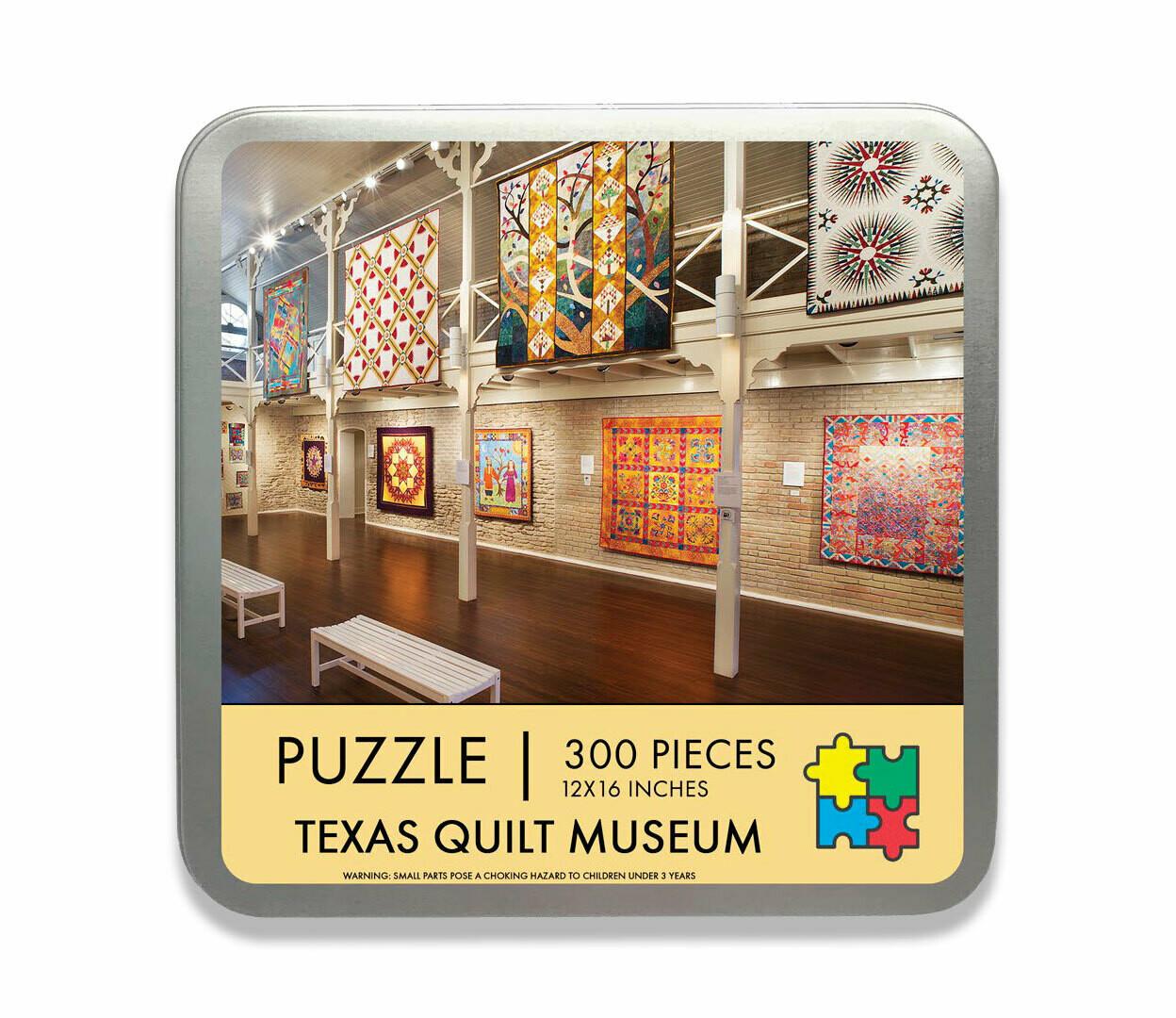 Texas Quilt Museum Travel Puzzle