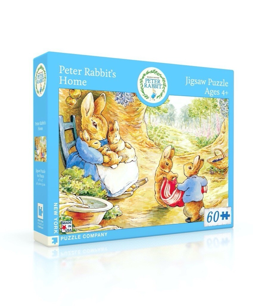 Peter Rabbit's Home Kids Puzzle