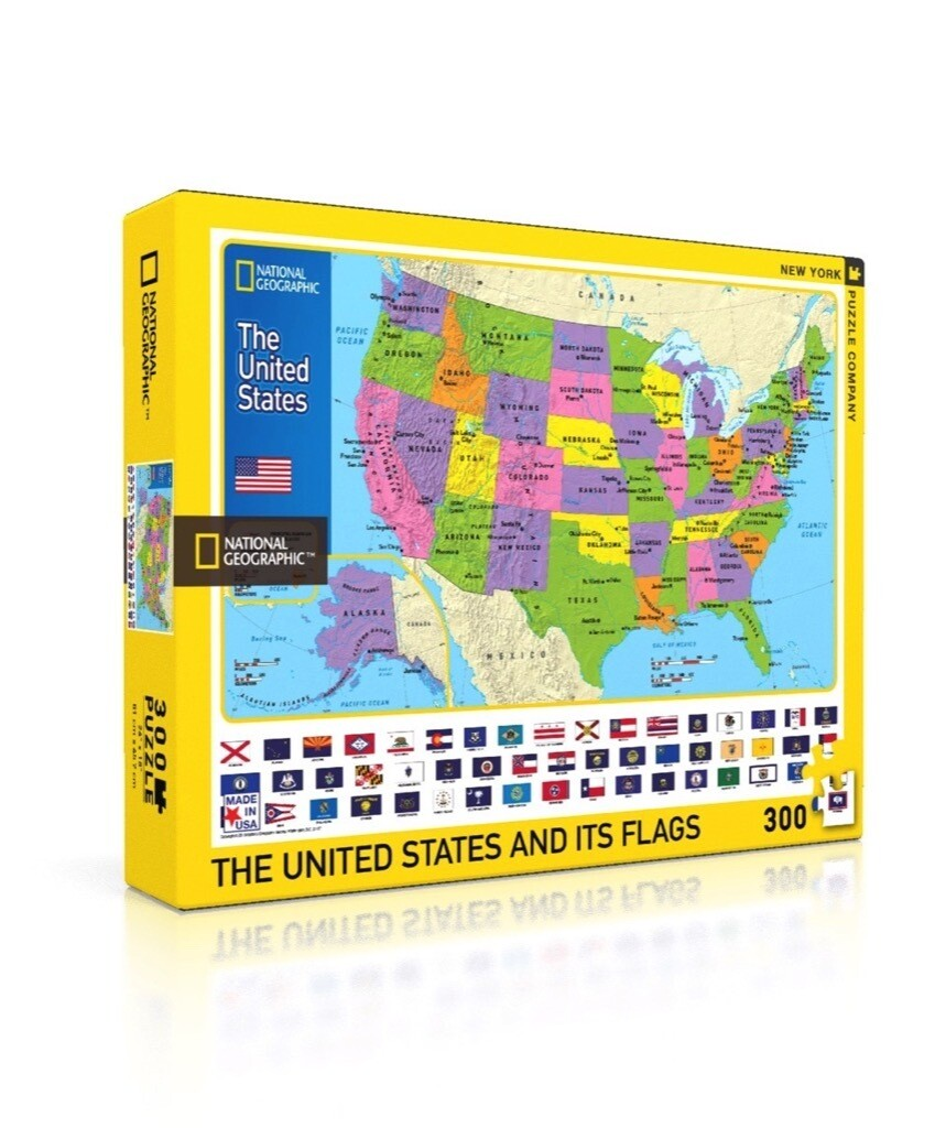 The USA Kids Map Puzzle
