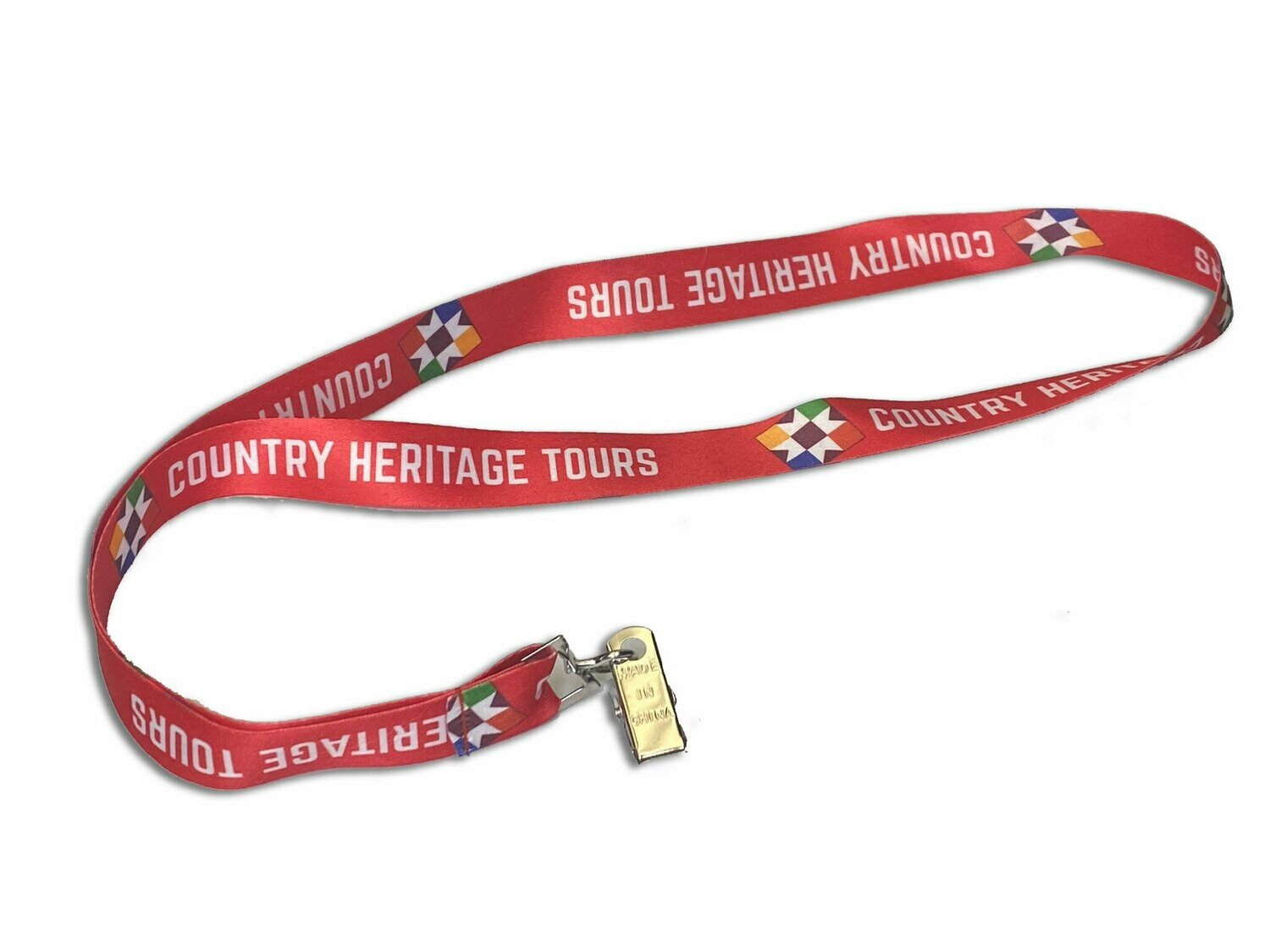 Country Heritage Tours Lanyard