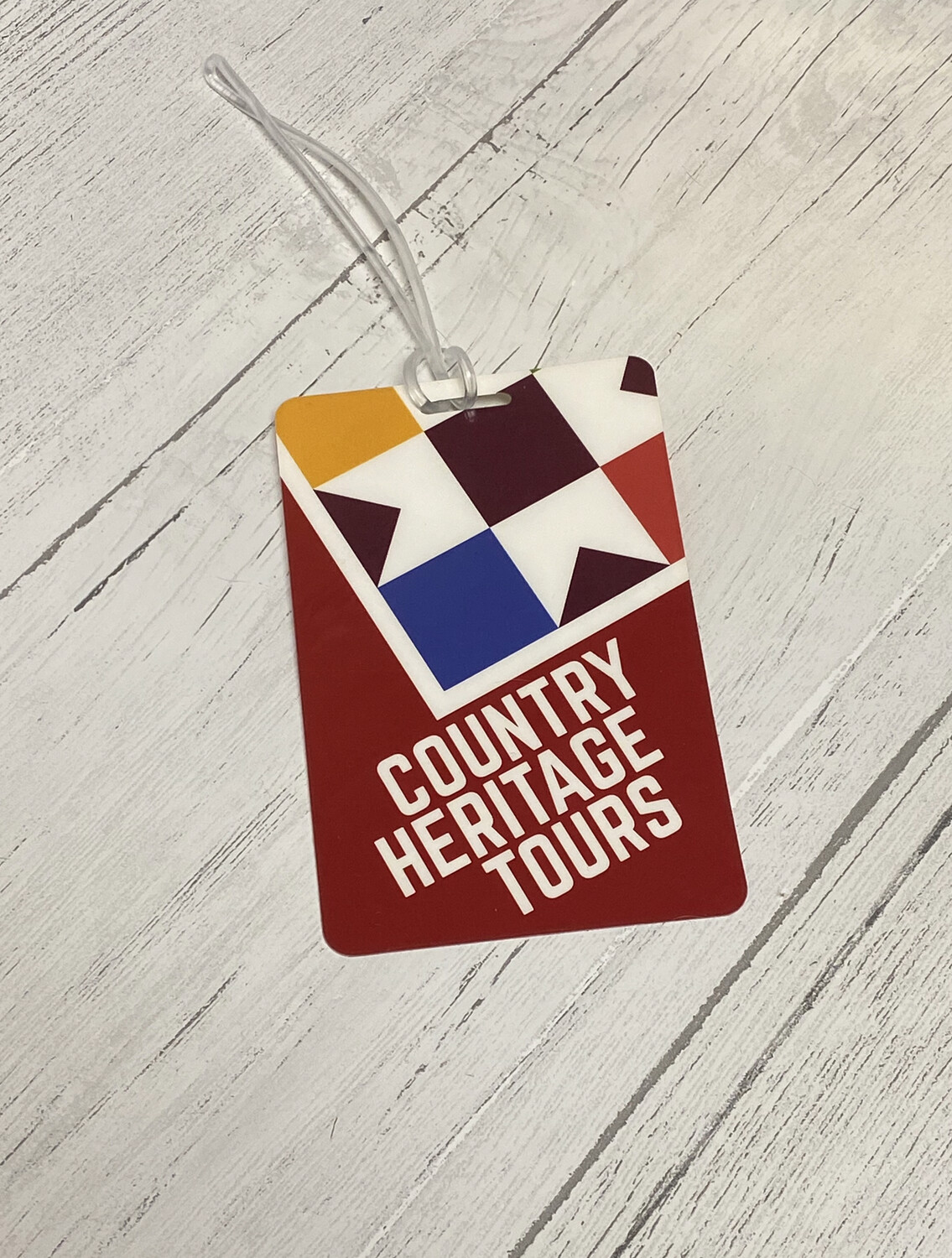 Country Heritage Tours Luggage Identifier