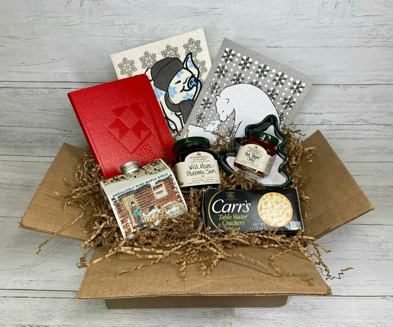 Winter Weather Gift Basket
