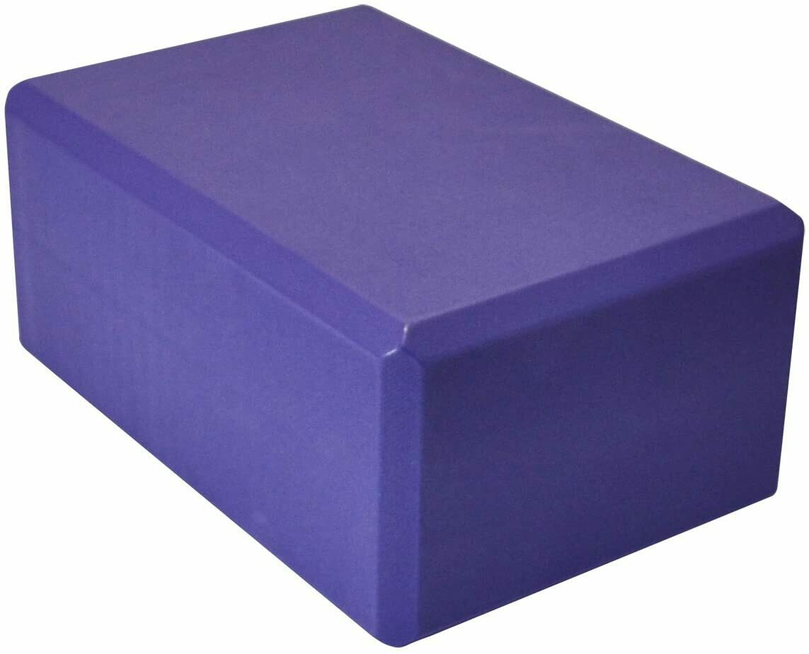 Yoga brick (lightly used, purple)