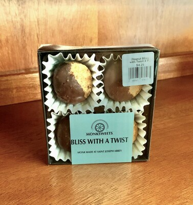 Peanut Bliss with Twist 4 Piece Box