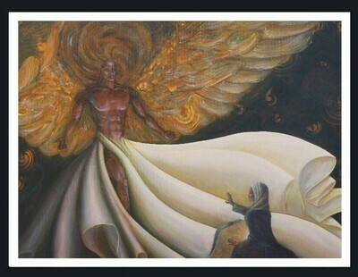 THE ANNUNCIATION by: Br Christopher Schaefer, O.S.B.