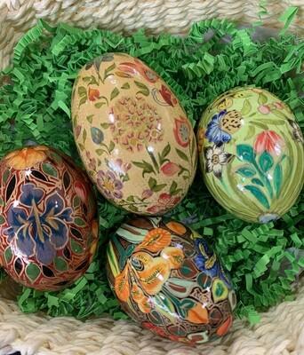 Kashmir Handpainted Egg