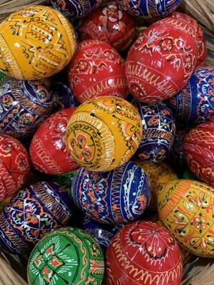 Pysanky Hand-Painted  Easter Eggs