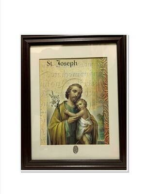 St. Joseph & Child Print