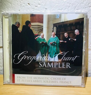 Gregorian Chant Sampler CD