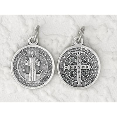 """2"""" St Benedict Silver Medal"""