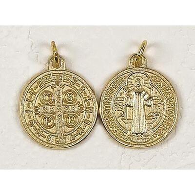 "Scan St Benedict 1.75"" GoldMedal"