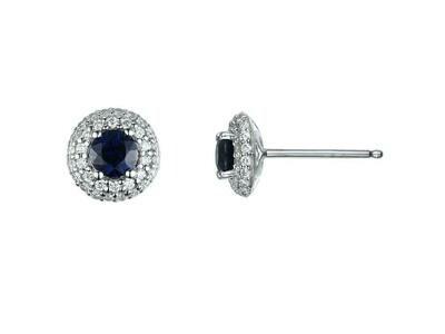 COLOR STONE & DIAMOND EARRINGS