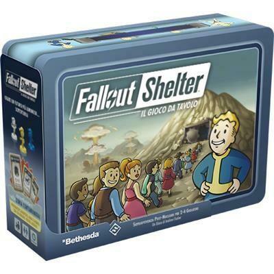 Fallout Shelter, il Gioco da Tavolo