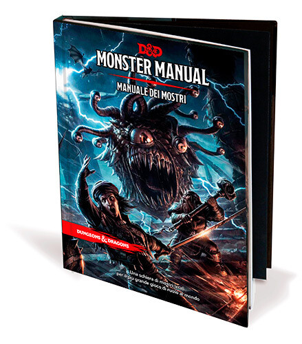 D&D Monster Manual - Quinta Ed.