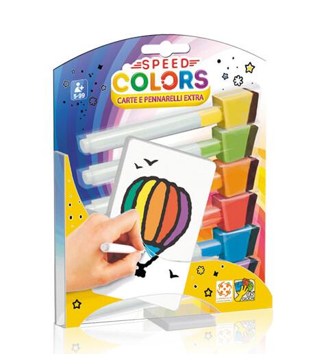 Speed Colors - Carta e Pennarelli Extra