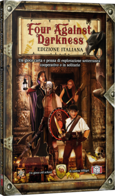 Four against Darkness - Gamebook