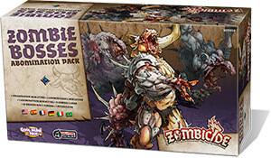 Zombicide - Zombie Bosses - Abomination pack, Espansione di Black Plague