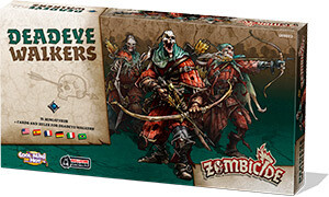 Zombicide - Deadeye Walkers, Espansione di Black Plague