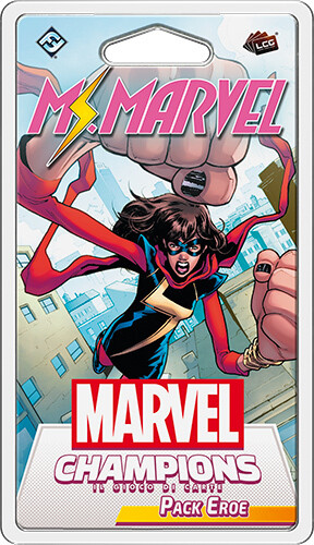 Marvel Champions - Ms. Marvel (Pack Eroe)