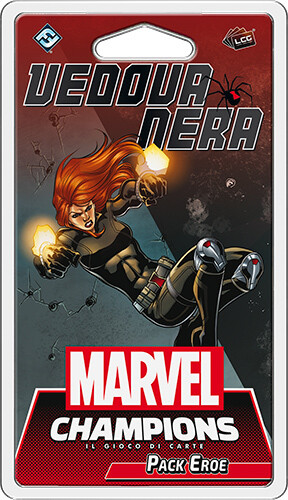 Marvel Champions - Vedova Nera (Pack Eroe)