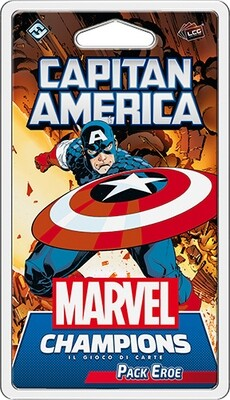 Marvel Champions - Capitan America (Pack Eroe)