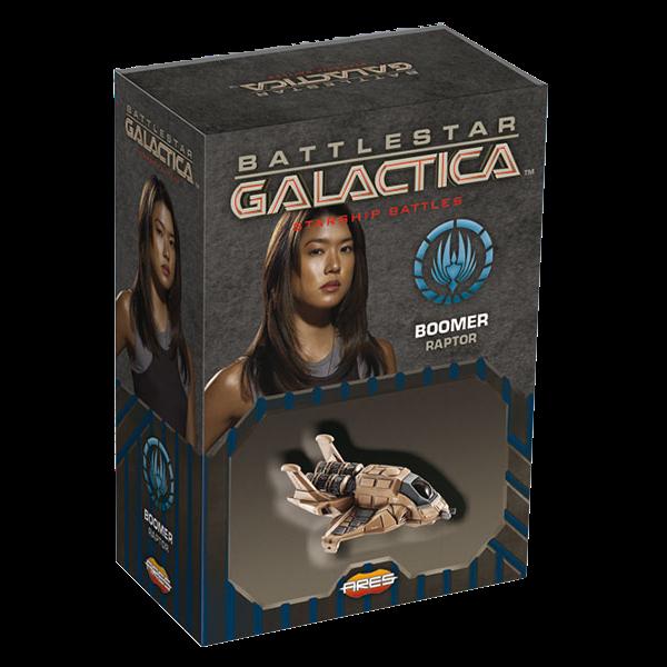 Battlestar Galactica: Starship Battles - Raptor di Boomer