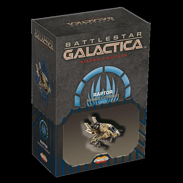 Battlestar Galactica: Starship Battles - RaptorAssalto-Combattimento