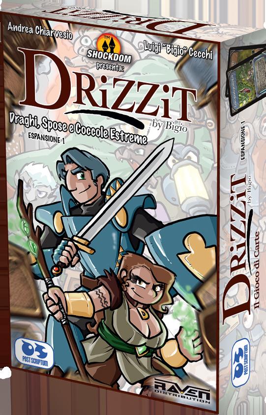 Drizzit - Il gioco di carte Espansione 1 - Draghi Spose e Coccole Estreme