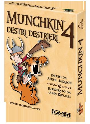 Munchkin 4 - Destri Destrieri