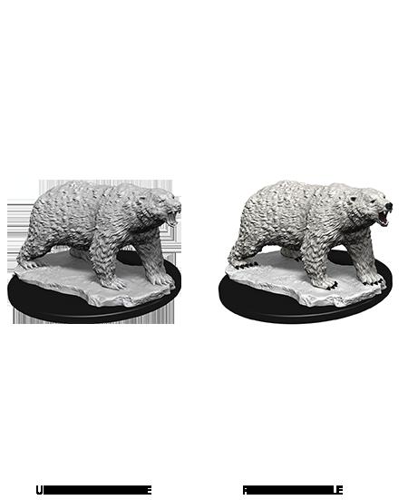 Deep Cuts Nolzur's Marvelous Miniatures - Polar Bear