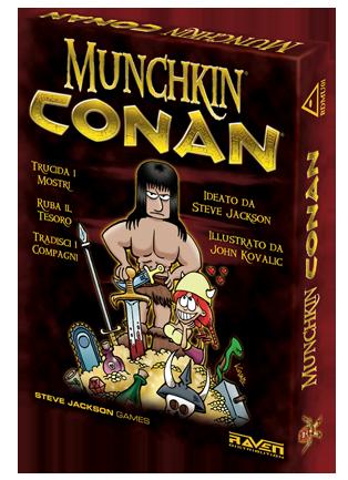 Munchkin - Conan